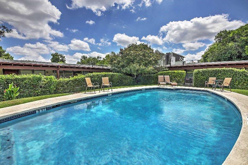 Erhöhe deine Austin Erfahrung, wenn du diese Ferienmietwohnung buchst!