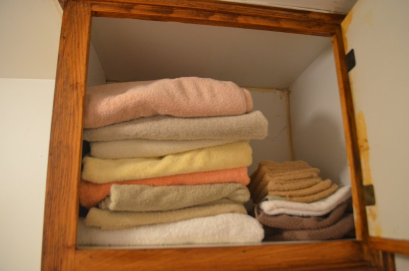 All towels are freshly washed before guests arrive