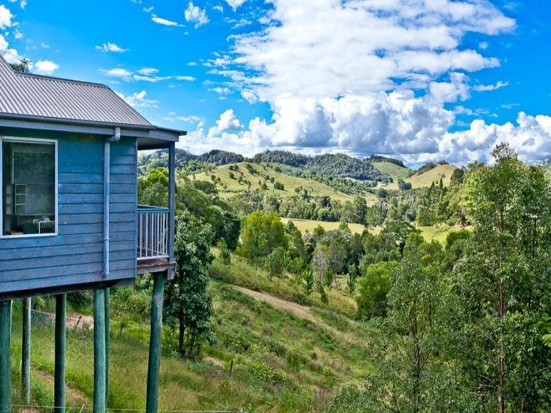 View of Kin Kin hills from your balcony