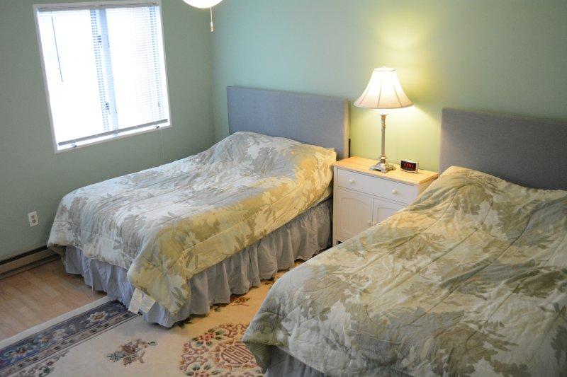 Second Floor bedroom (2 full beds)