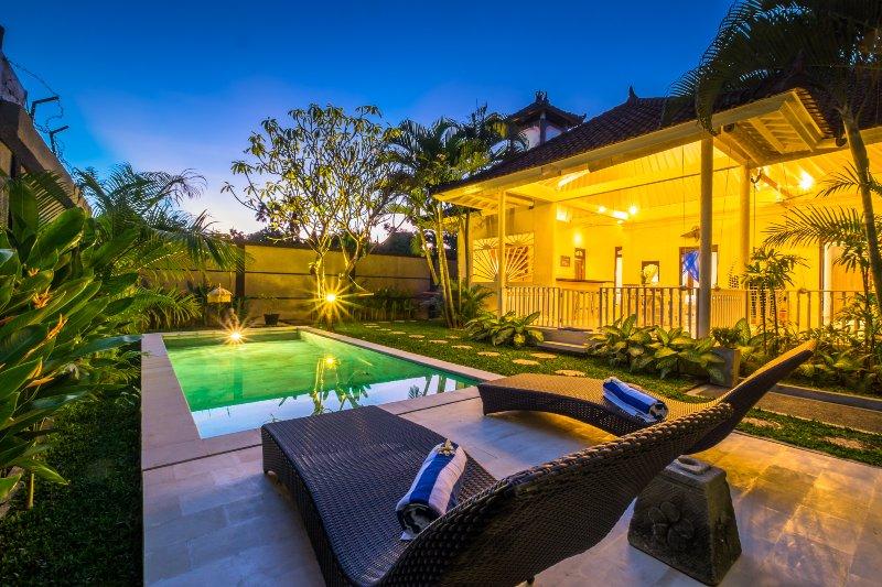 Sunset piscine