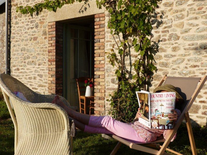 Gîte de charme Sainte-Anne d' Auray, holiday rental in Plumelin