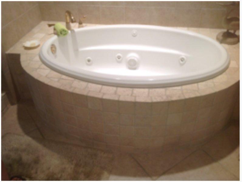 Vasca idromassaggio in bagno master