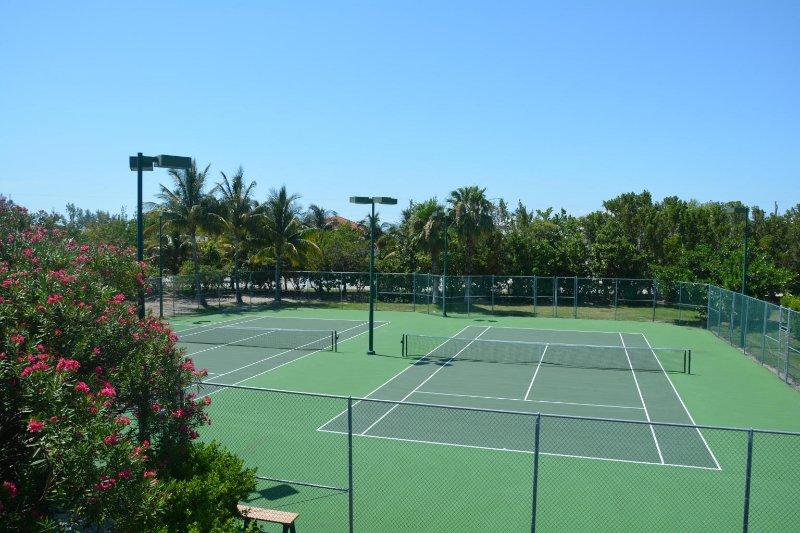 campi da tennis illuminati