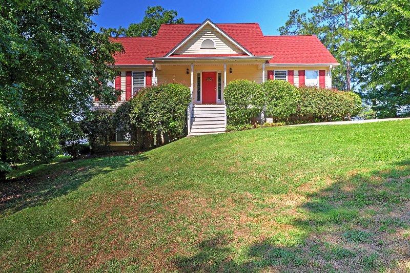 3BR Greensboro House on Lake Oconee w/Private Dock UPDATED ...