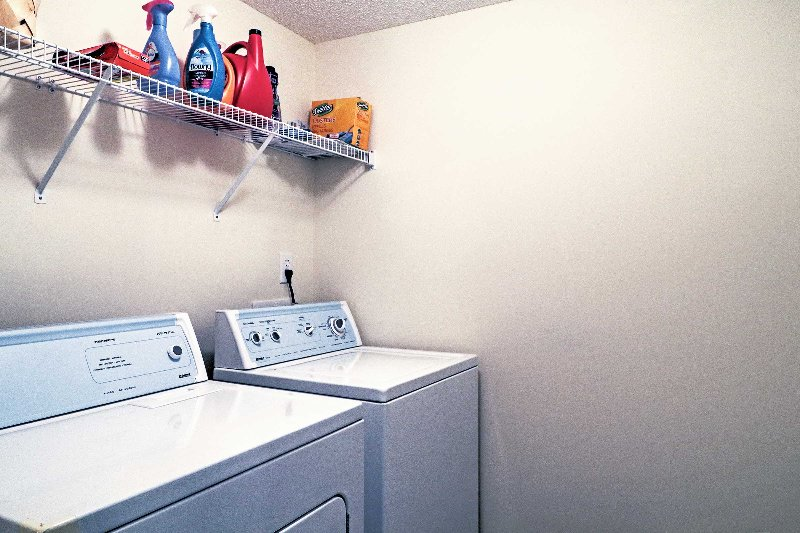 A washer and dryer are available for your use!