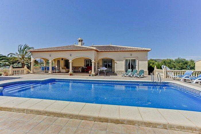 Casa de Paz beautiful luxury 5 bedroom villa, location de vacances à Javea