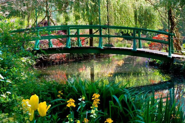 """The garden of """"Waterlilies"""" Giverny"""