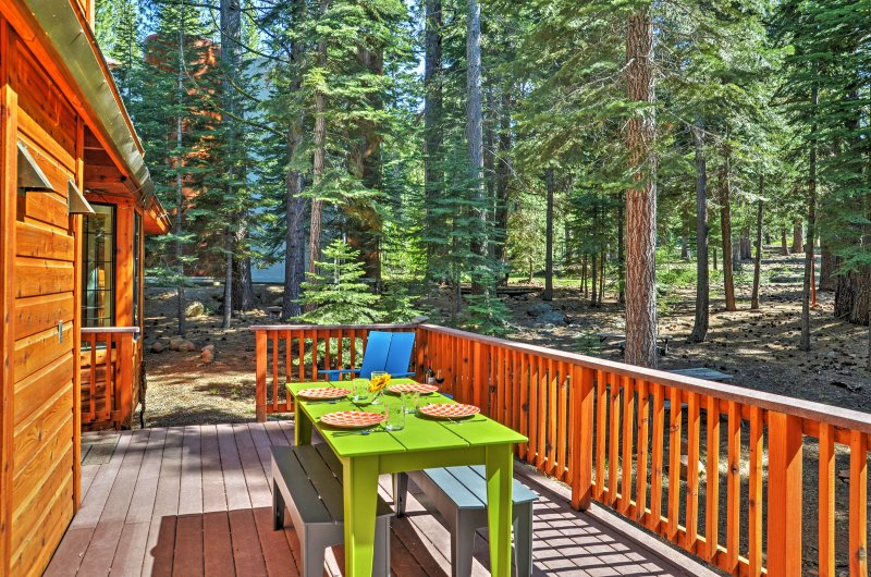 Elevate your Truckee experience when you stay in this fantastic Truckee vacation rental house!