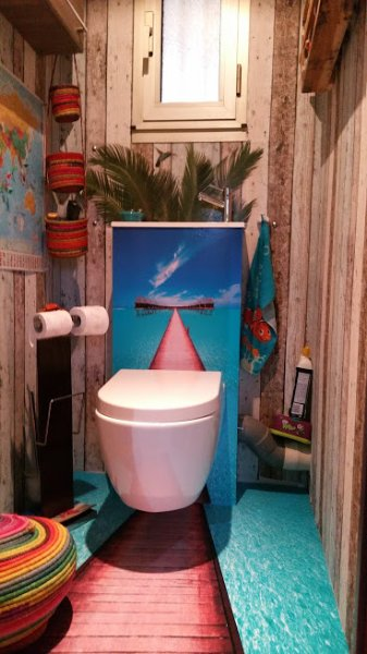 Toilette exotique!