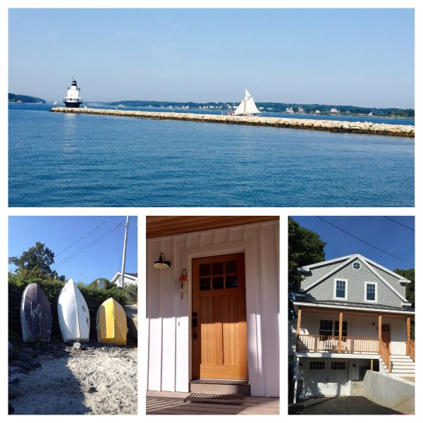 Spring Point Ledge Lighthouse, Fishing boats at Willard Beach, Front door & home-Simone By The Sea