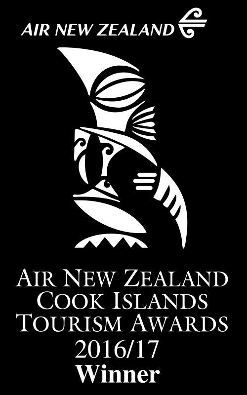 Somos los mejores alquiler de vacaciones en Rarotonga !! Este es el trofeo de Air New Zeland.
