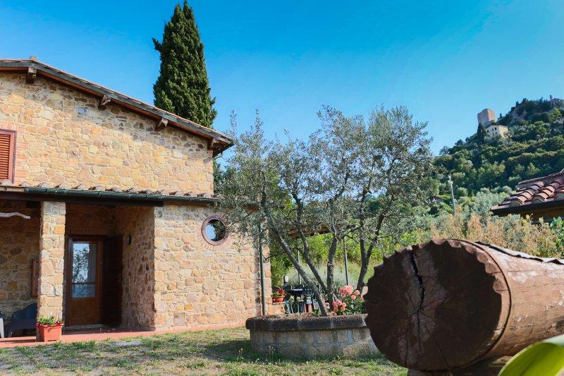 IL GUGNOLO - VACANZE IN VAL D'ORCIA, holiday rental in Bagno Vignoni