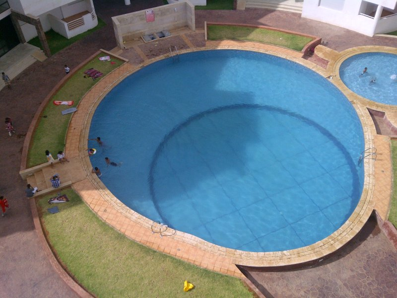 pool in the heart of the residence