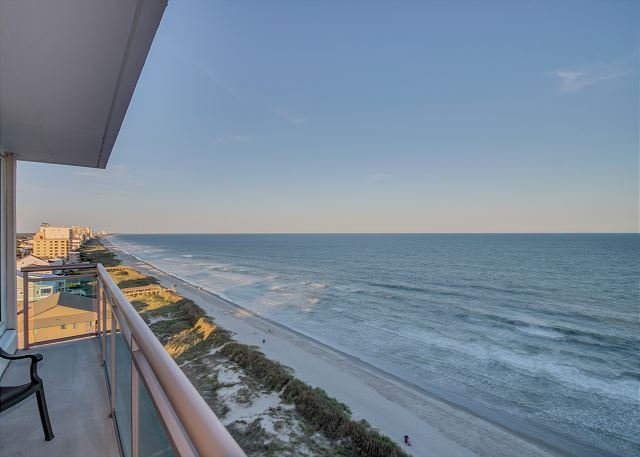 Oceanfront Balcony View From Living Room