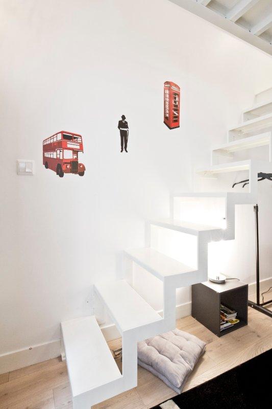 Escadas para mezzanine