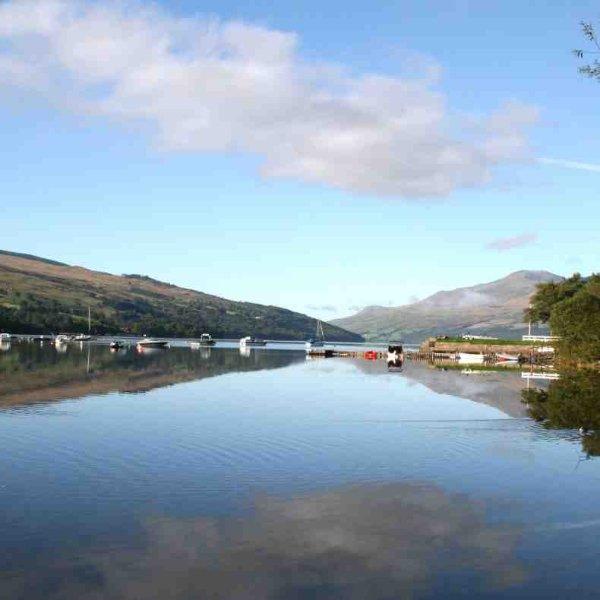 Loch Tay peut être pittoresque dans tous les temps
