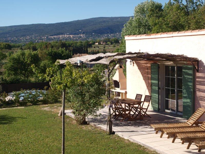 Ferienhaus mit Blick auf die Berge Vaucluse