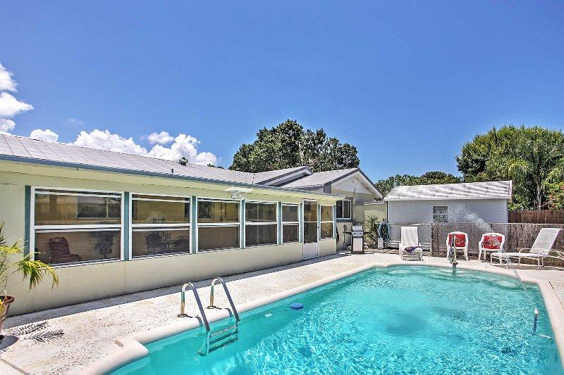 Avoir la retraite en Floride d'une vie lors de votre séjour dans cette maison de Vero Beach vacances!