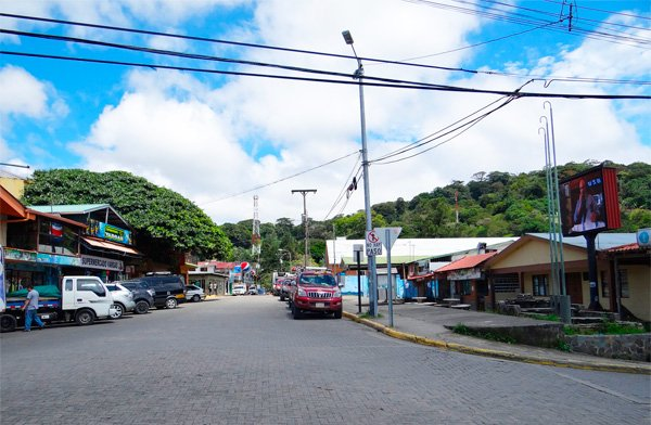 Santa Elena Downtown is located 5 minutes by Car from our House.
