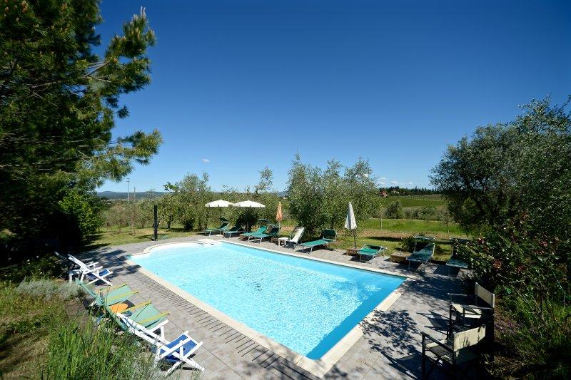 La Spiga D'oro -Granaio, location de vacances à Foiano Della Chiana