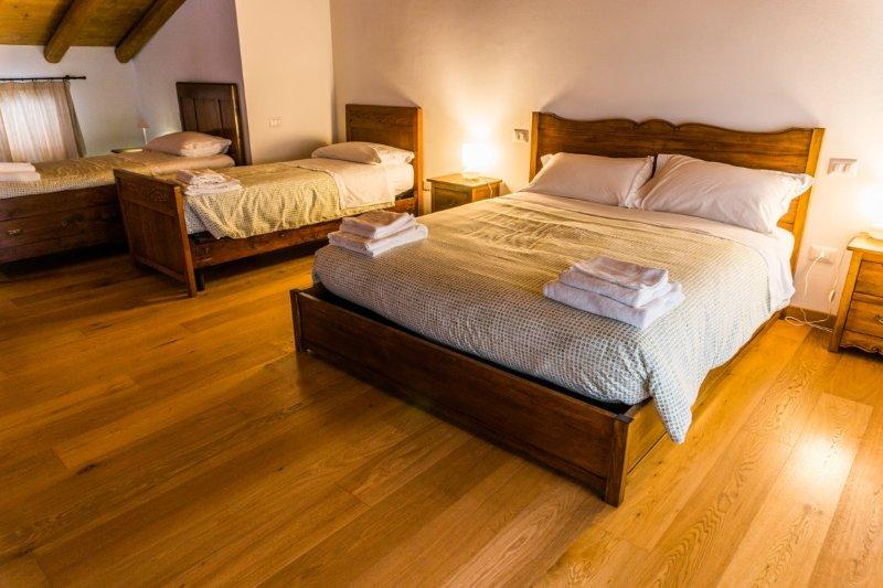 AGRITURISMO DAI GOBBI Apartment 'Orchidea', holiday rental in Bertigo