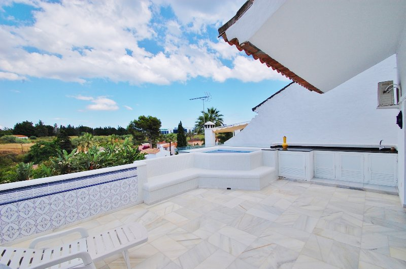 terrace with Jacuzzi
