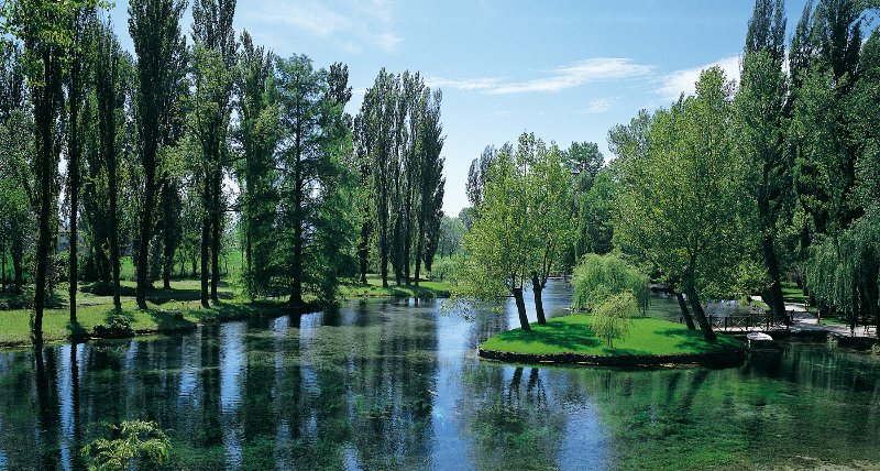 Park von Clitunno