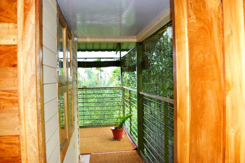 Balcón desde el dormitorio 1