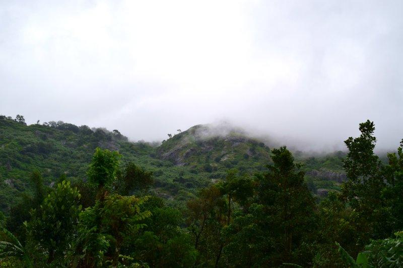 Montaña detrás de la Soledad