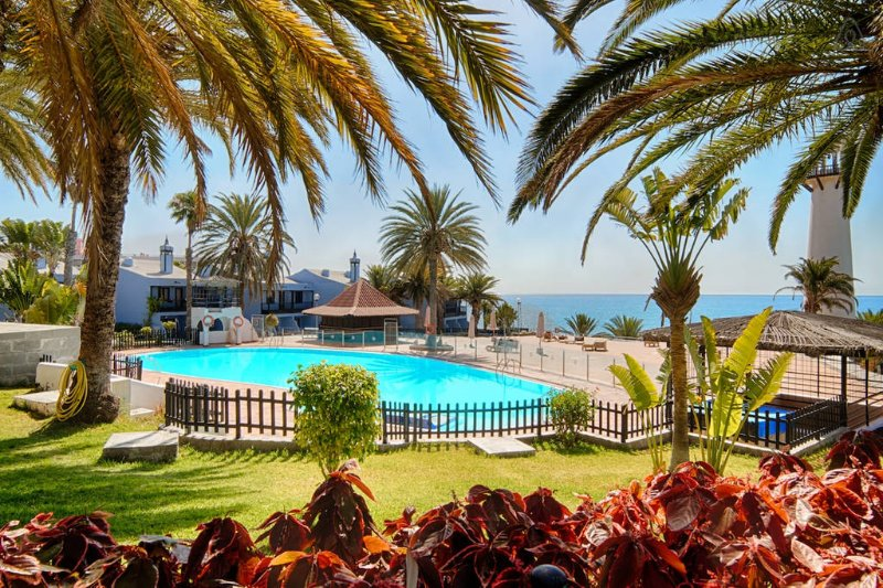 beachfront - fronte mare - primera linea de playa – semesterbostad i Playa del Inglés