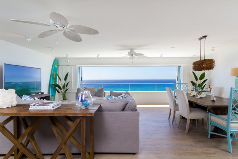 This is one of the finest available rentals along Oahu's Gold Coast.