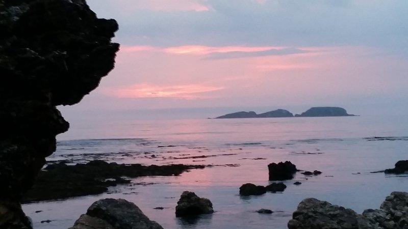 Sunrise over the Tollgates