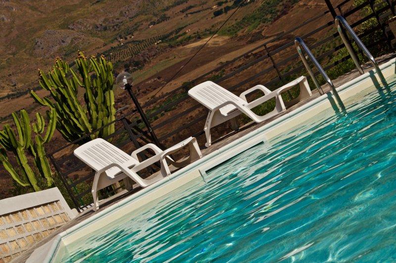 entspannenden Pool