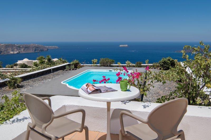 Ananda Retreat Villa M private pool sunset view, vakantiewoning in Athinios