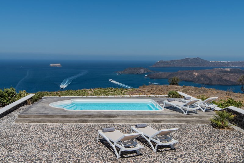 Ananda Retreat Villa T private pool sunset view, vakantiewoning in Athinios