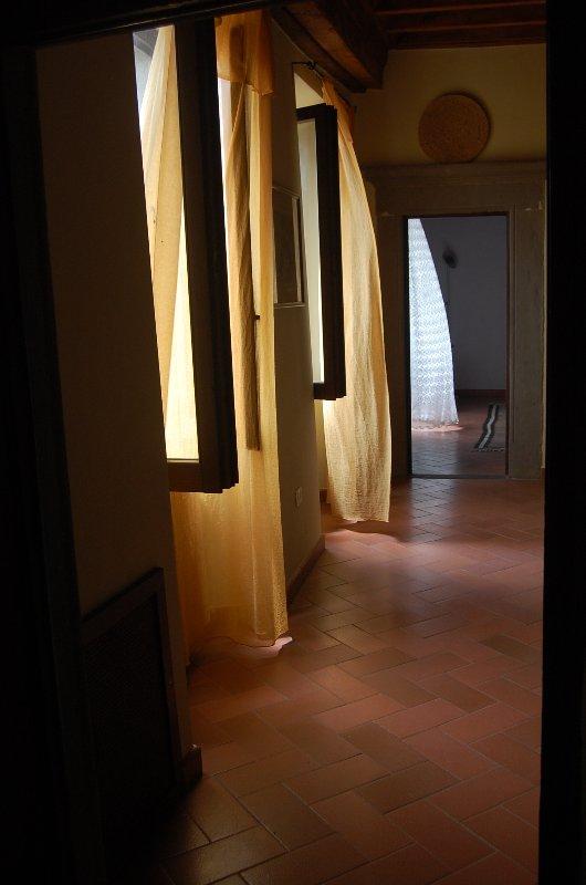La secuencia de habitaciones, desde una habitación a otra