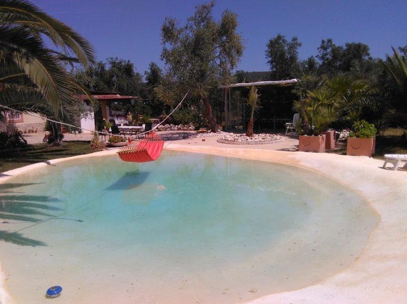 Villa Oleandro Vieste Hausteil mit eigenem Pool, casa vacanza a Chiesiola