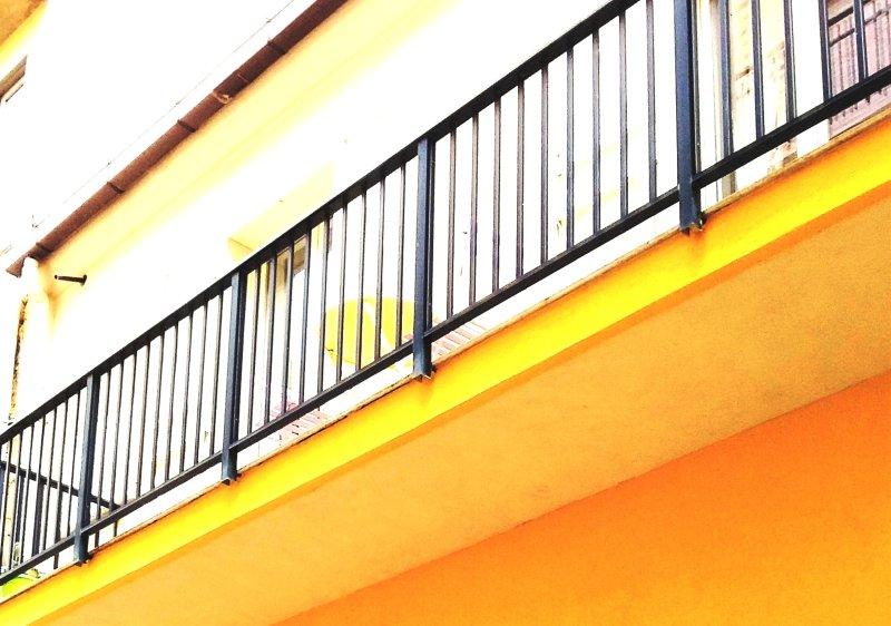 outside house balcony