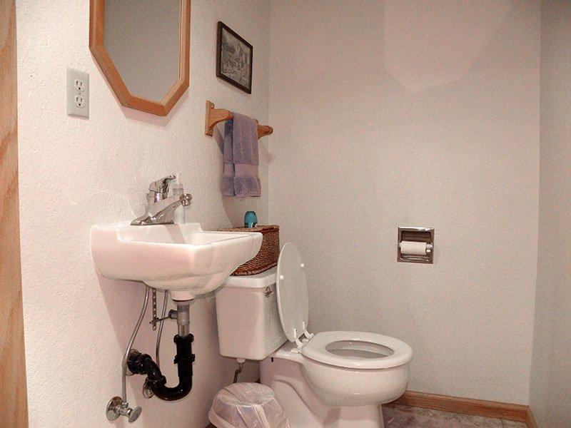 baño más pequeño