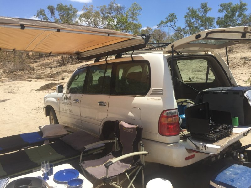 4WD Camping Advenutres in the Aussie Bush