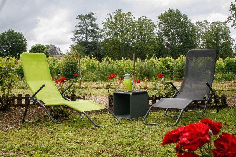 Jardin privatif passiflore
