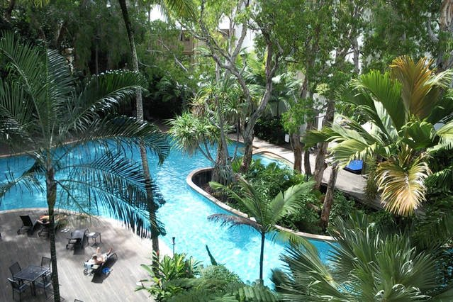 Best tropical resort pool in Palm Cove