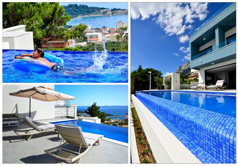 Have a fun on private  heated swimming pool !