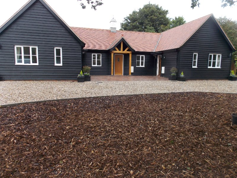 Complejo de tres casas de campo, en el pueblo de Finchingfield