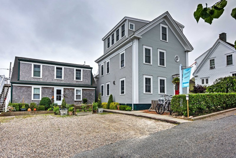 Your Cape Cod retreat will reach new heights at this Provincetown vacation rental studio.