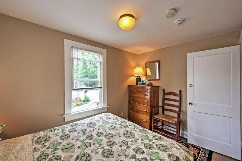 El descanso y relajarse en este apartamento de alquiler en Provincetown.