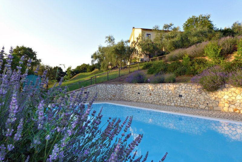 Countryside Villa with swimming pool, holiday rental in Pozzo Ciolino