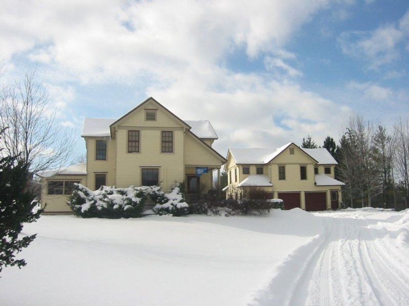 Main House and Apartment in the Winter