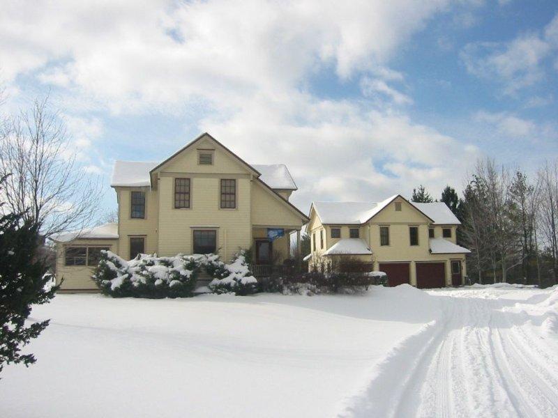 Main House e Appartamento in inverno